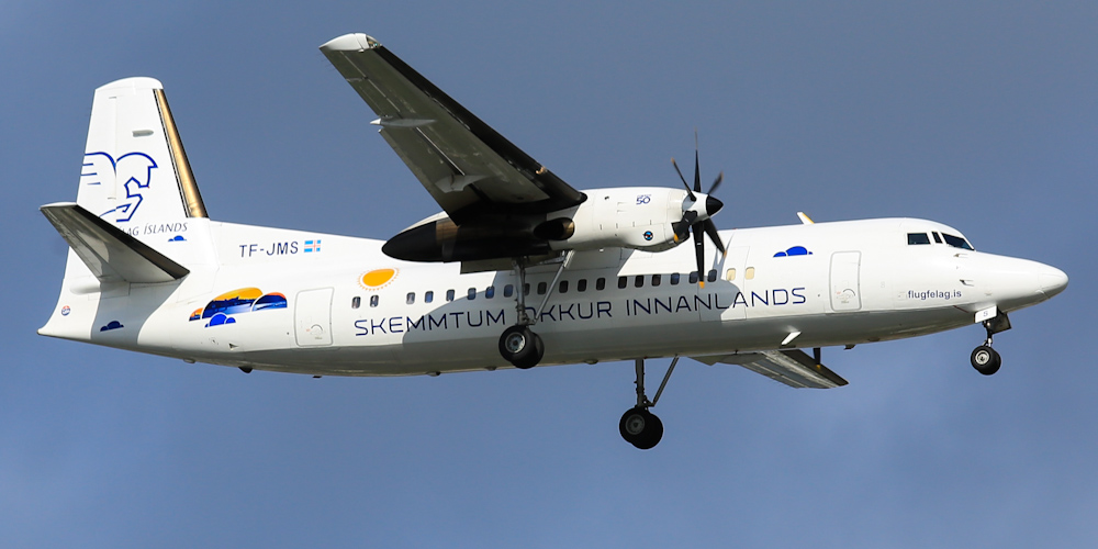 Fokker 50- passenger aircraft. Photos, characteristics, reviews.