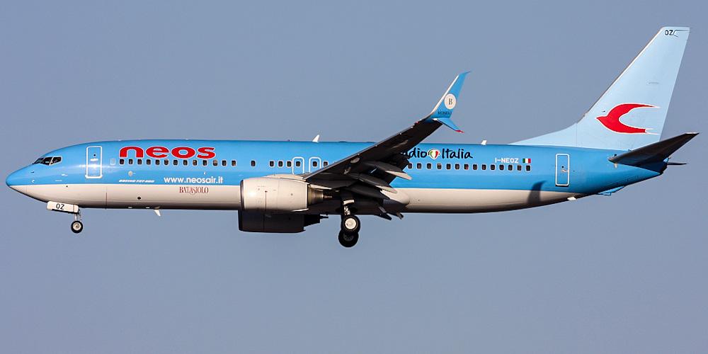 Боинг-737-800 авиакомпании Neos