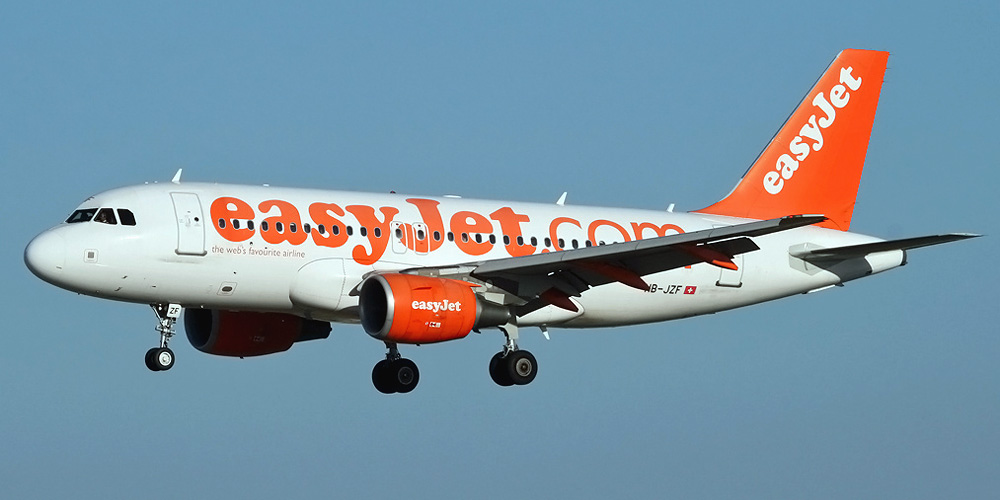 Airbus A319 авиакомпании EasyJet Switzerland