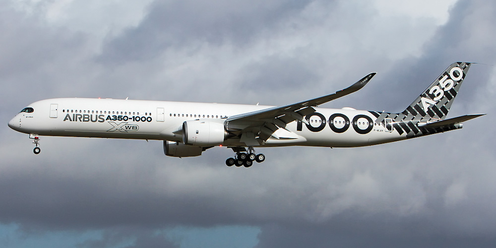 Airbus A350-1000- пассажирский самолет. Фото, характеристики, отзывы.