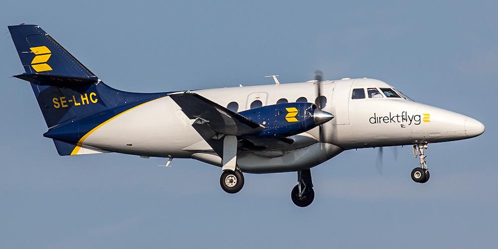 Jetstream 31 авиакомпании Direktflyg