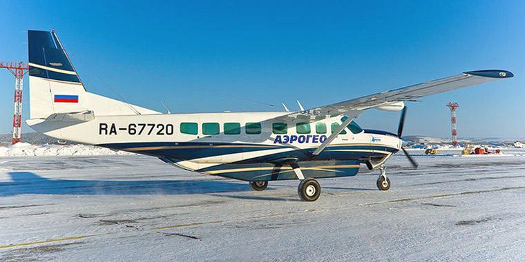 Самолет Cessna Grand Caravan авиакомпании АэроГео