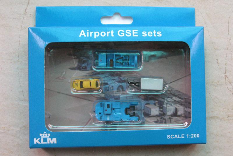 Наземная техника KLM - набор 2
