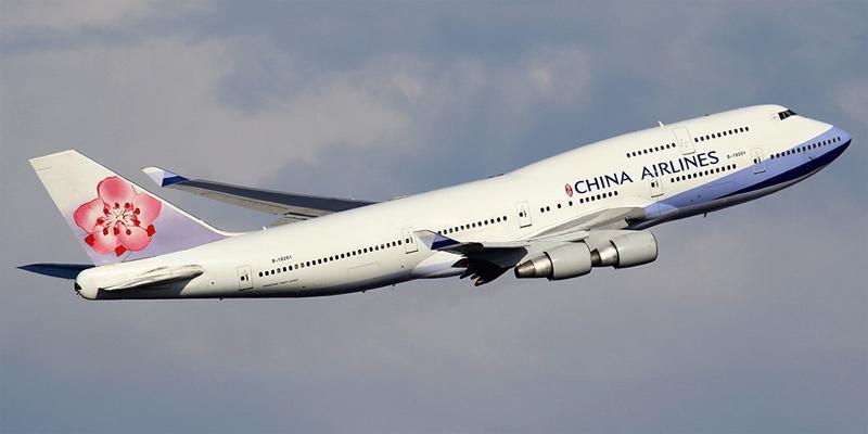 Boeing 747-400 авиакомпании China Airlines