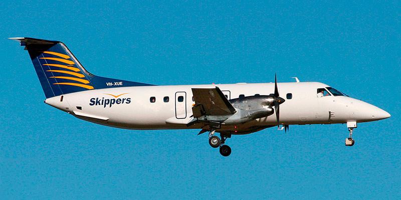 Самолет Embraer 120 авиакомпании Skippers Aviation