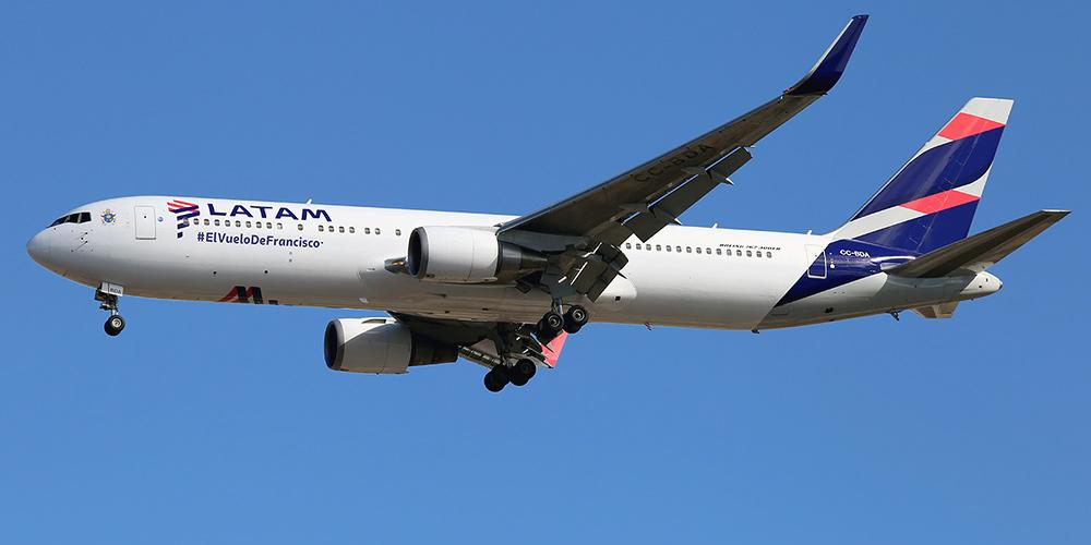 Самолет Боинг-767-300 авиакомпании LATAM Argentina