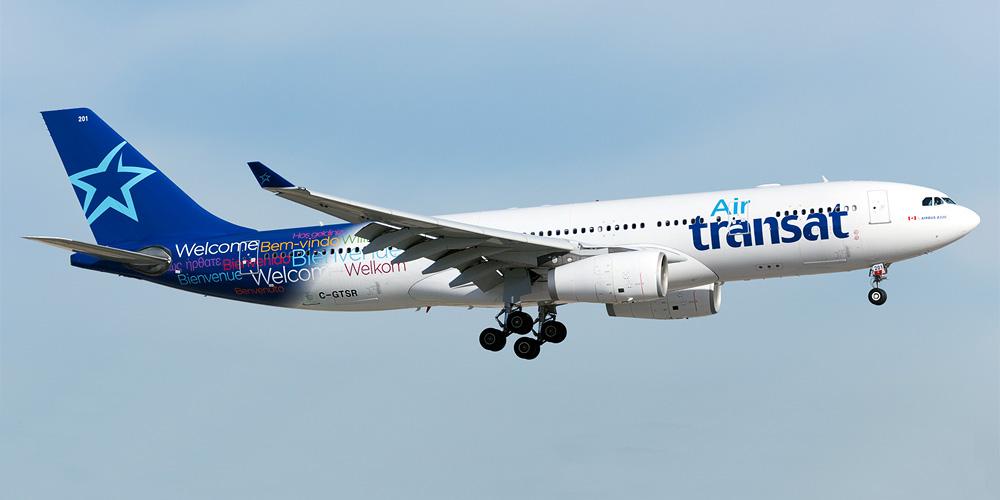 Airbus A330-200 авиакомпании Air Transat