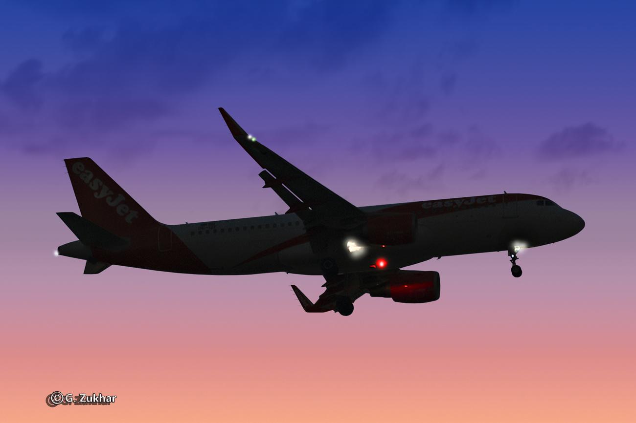Airbus A320-214 авиакомпании easyJet