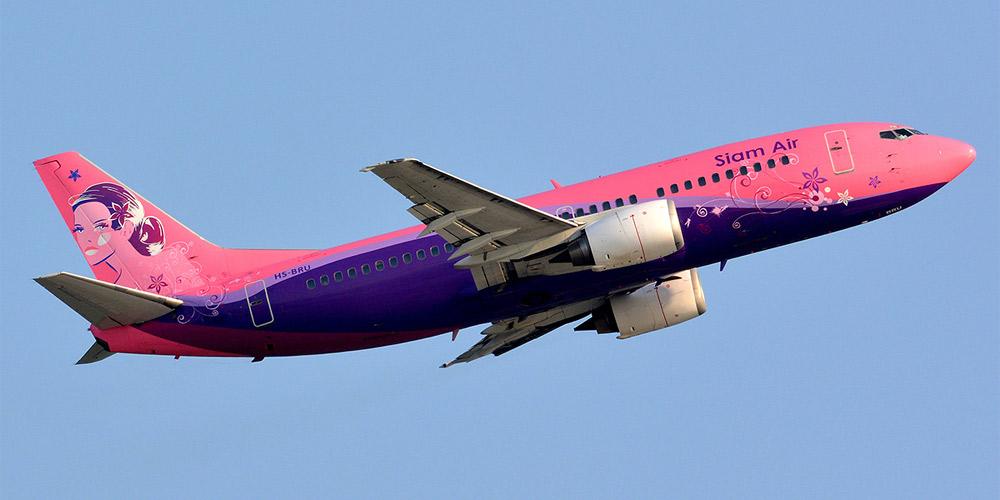 Боинг-737-300 авиакомпании Siam Air
