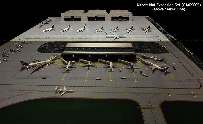 Расширение перрона аэродрома
