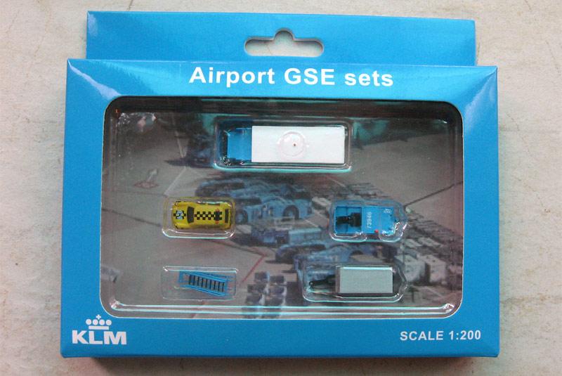 Наземная техника KLM - набор 4