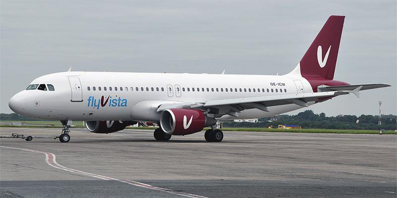 Airbus A320 авиакомпании flyVista