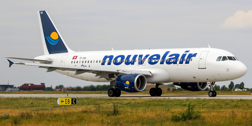 Airbus A320 авиакомпании Nouvelair