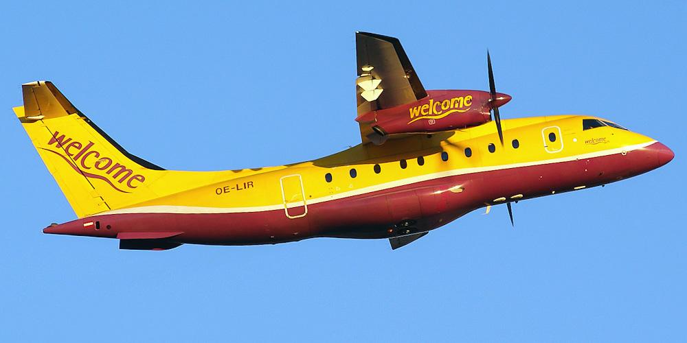 Dornier 328jet авиакомпании Welcome Air