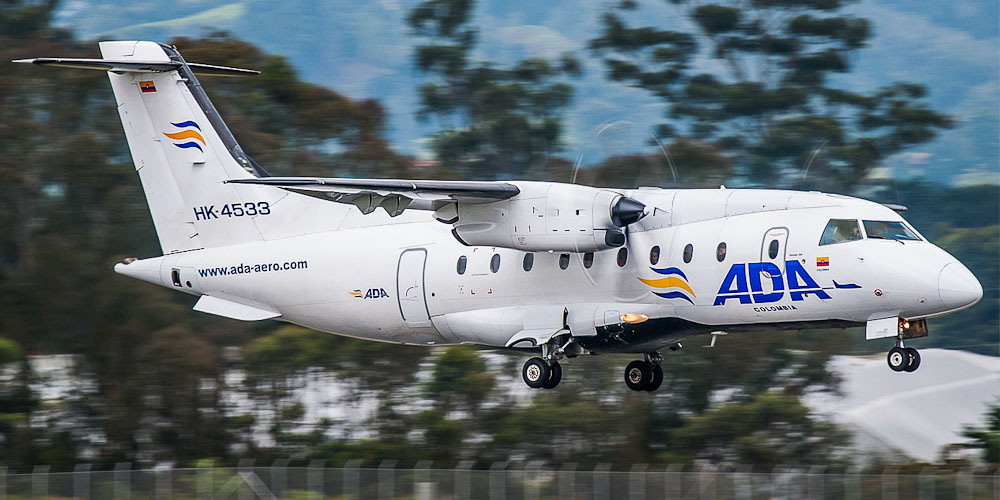 Самолет Dornier 328 авиакомпании Aerolinea de Antioquia
