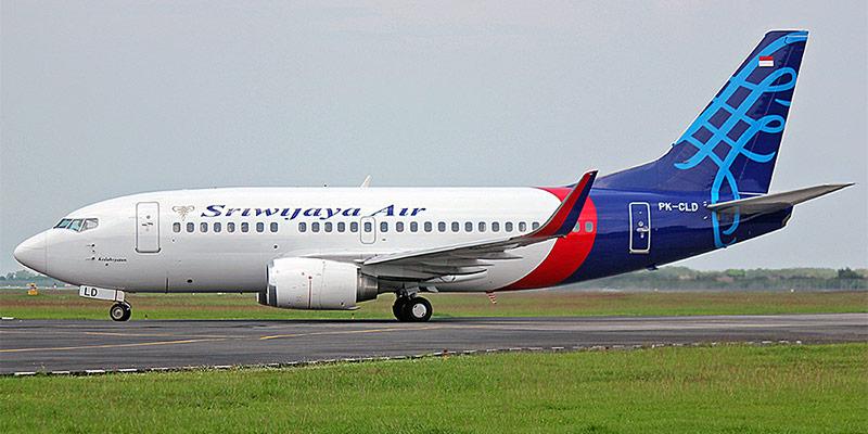 Самолет Боинг-737-500 авиакомпании Sriwijaya Airlines