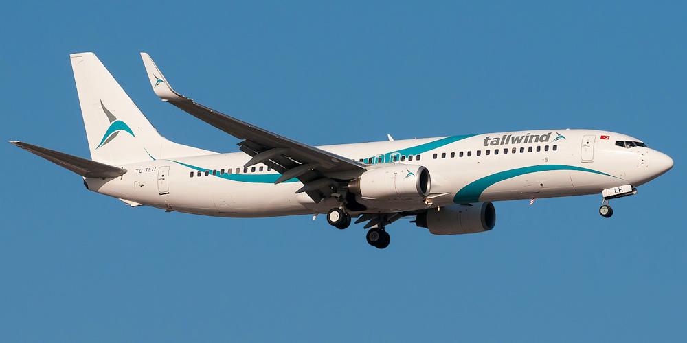 Боинг-737-800 авиакомпании Tailwind Airlines