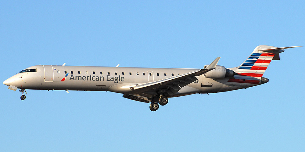 Самолет Bombardier CRJ700 авиакомпании Envoy Air