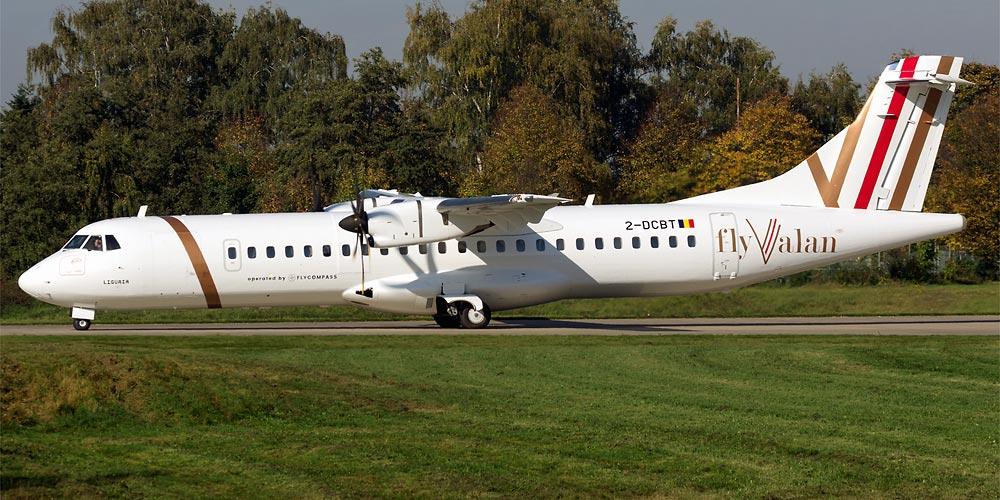 ATR 72-500 авиакомпании FlyValan