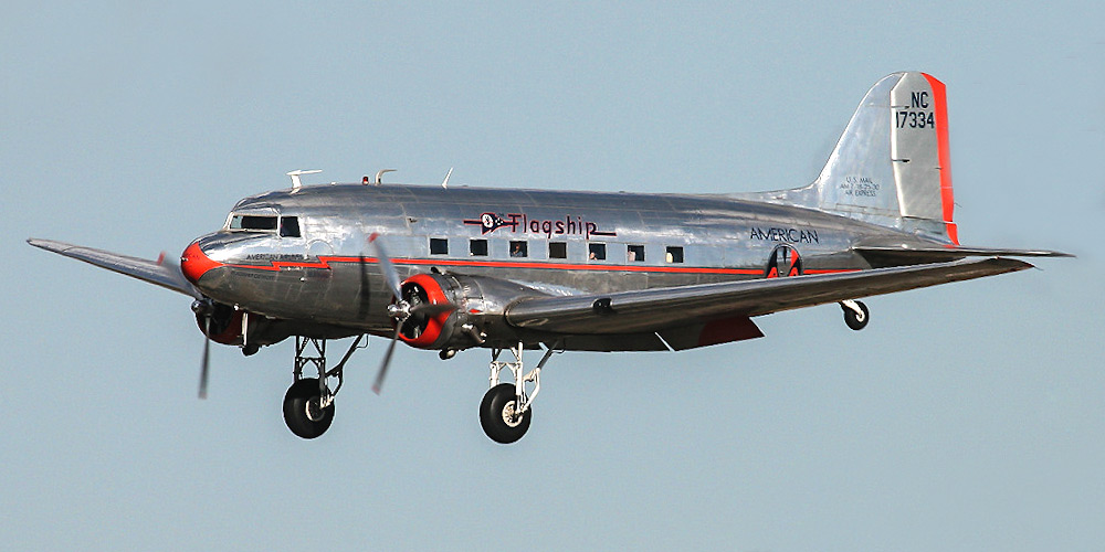 Douglas DC-3- пассажирский самолет. Фото, характеристики, отзывы.
