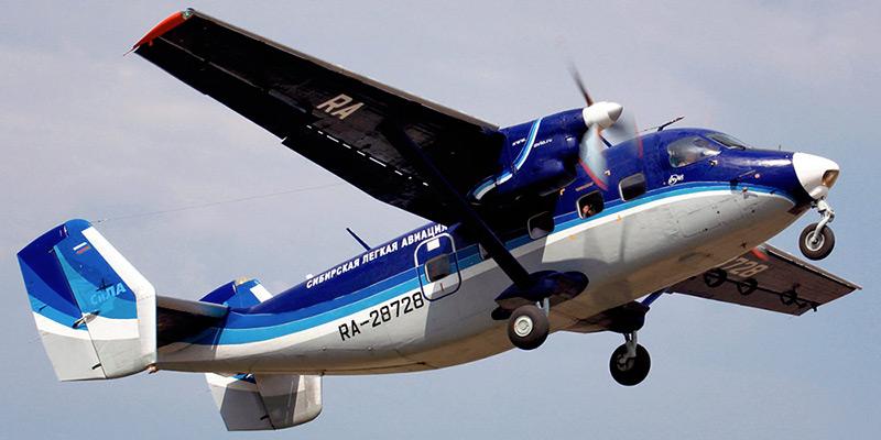 Самолет Ан-28 авиакомпании СиЛА