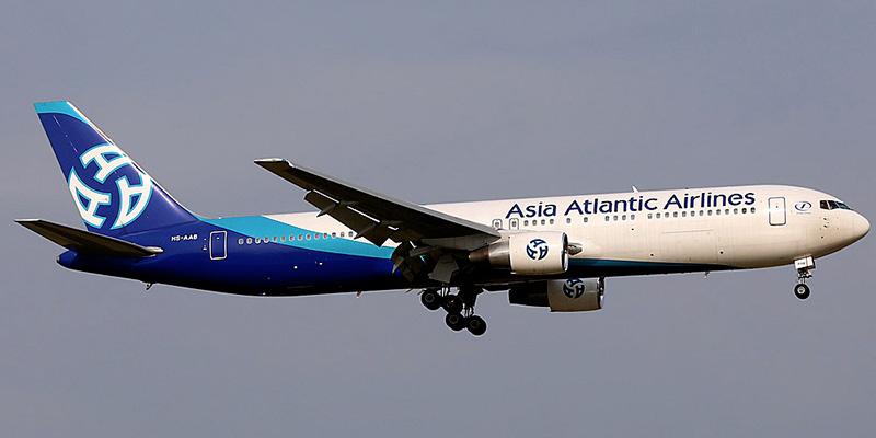 Боинг-767-300 авиакомпании Asia Atlantic Airlines