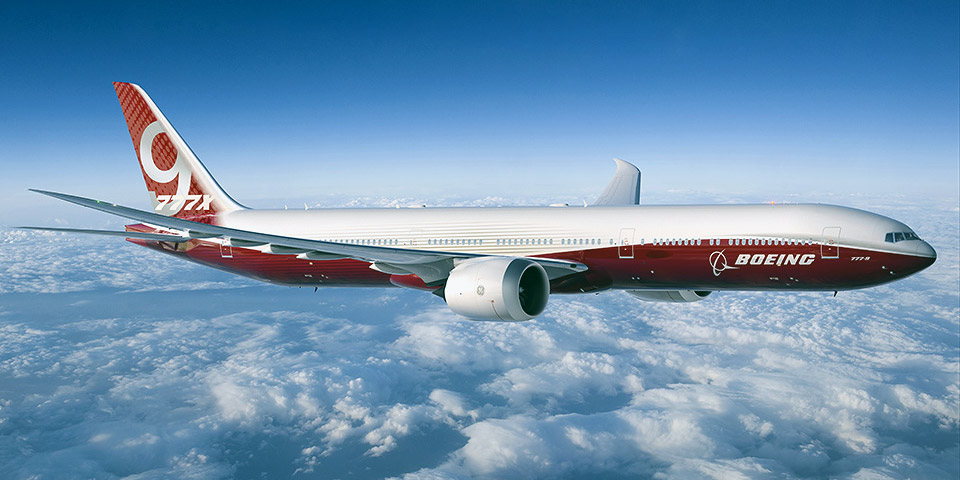 Boeing 777-9- passenger aircraft. Photos, characteristics, reviews.