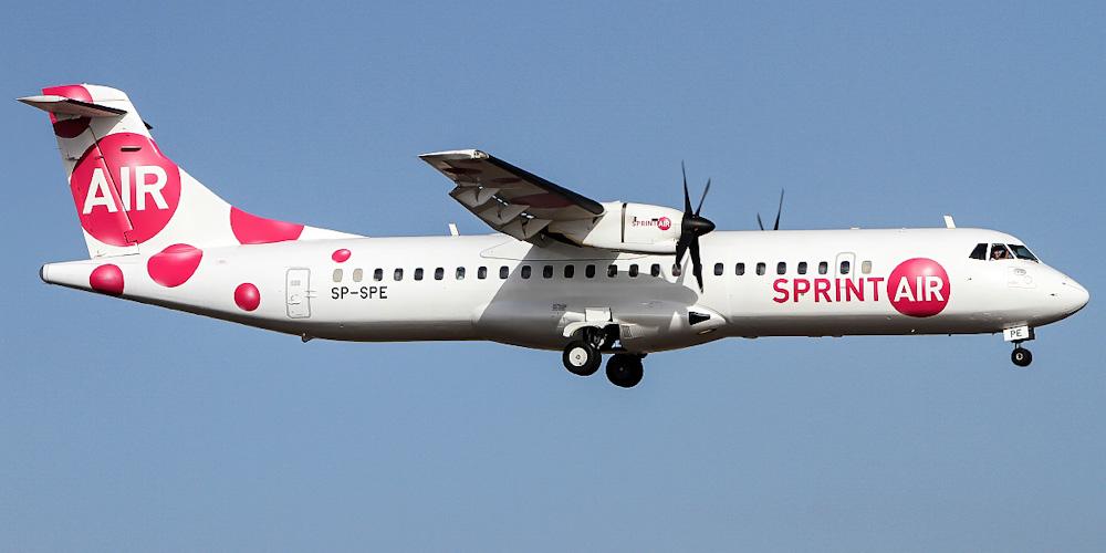 ATR 72 авиакомпании SprintAir