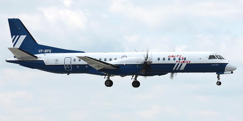 Самолет Saab 2000 авиакомпании Полет