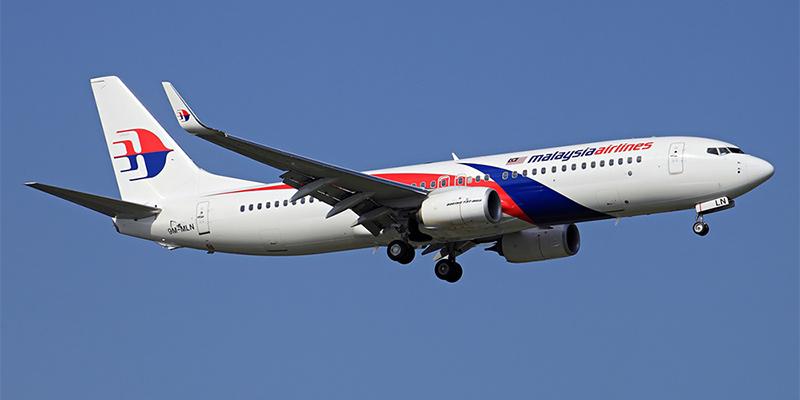Самолет Боинг-737-800 авиакомпании Malaysia Airlines