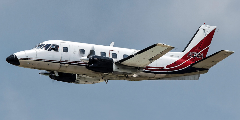 Embraer EMB-110 Bandeirante- passenger aircraft. Photos, characteristics, reviews.