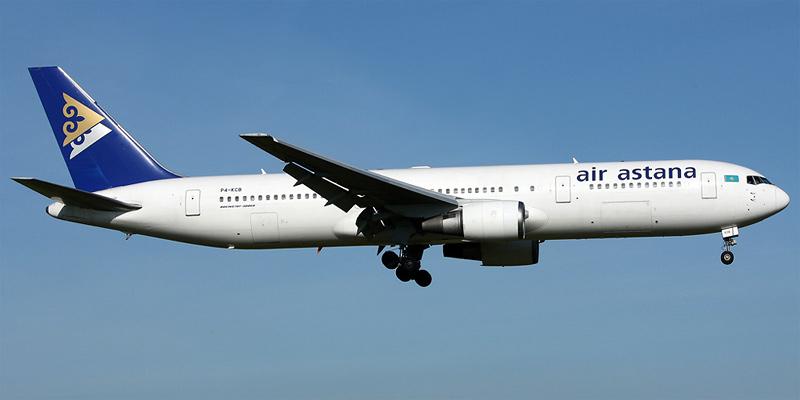 Самолет Боинг-767-300 авиакомпании Air Astana