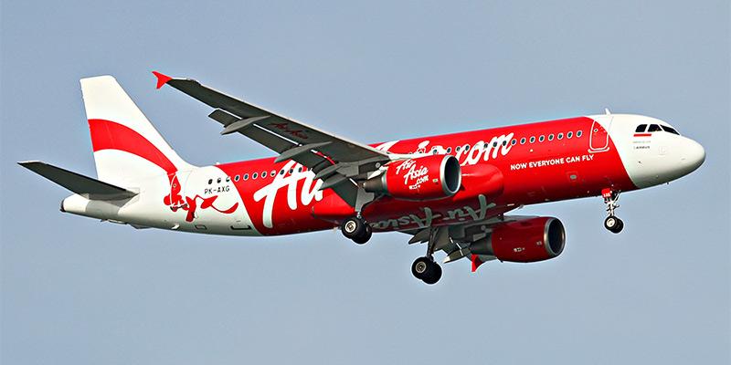 Самолет Airbus A320 авиакомпании Indonesia AirAsia