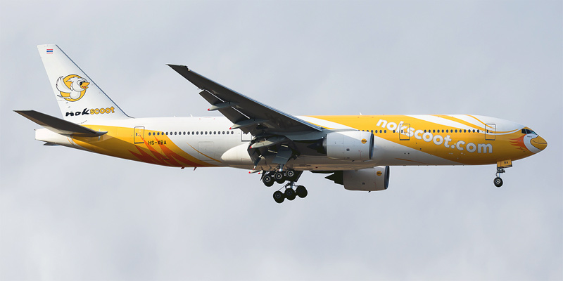 Boeing 777-200ER авиакомпании NokScoot