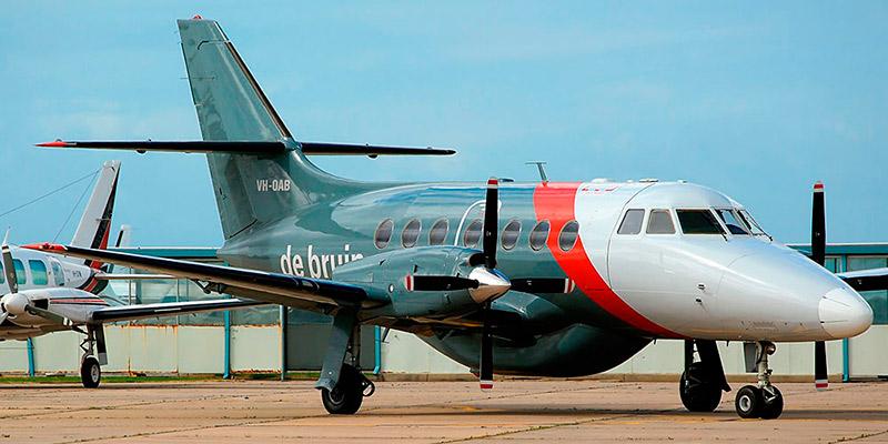 Самолет Jetstream 31 авиакомпании De Bruin Air