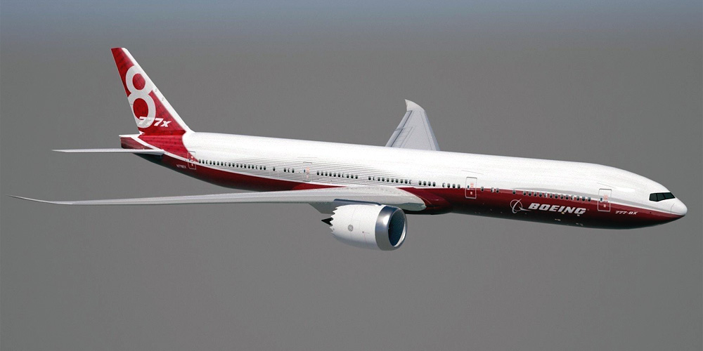 Boeing 777-8- passenger aircraft. Photos, characteristics, reviews.