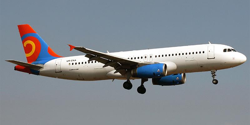 Самолет Airbus A320 авиакомпании Хорс