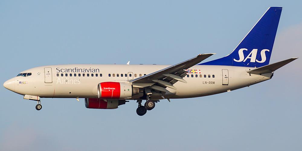 Боинг-737-800 авиакомпании SAS Norge