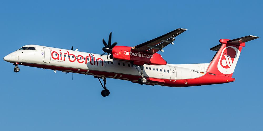 Bombardier Dash 8Q-400 авиакомпании LGW