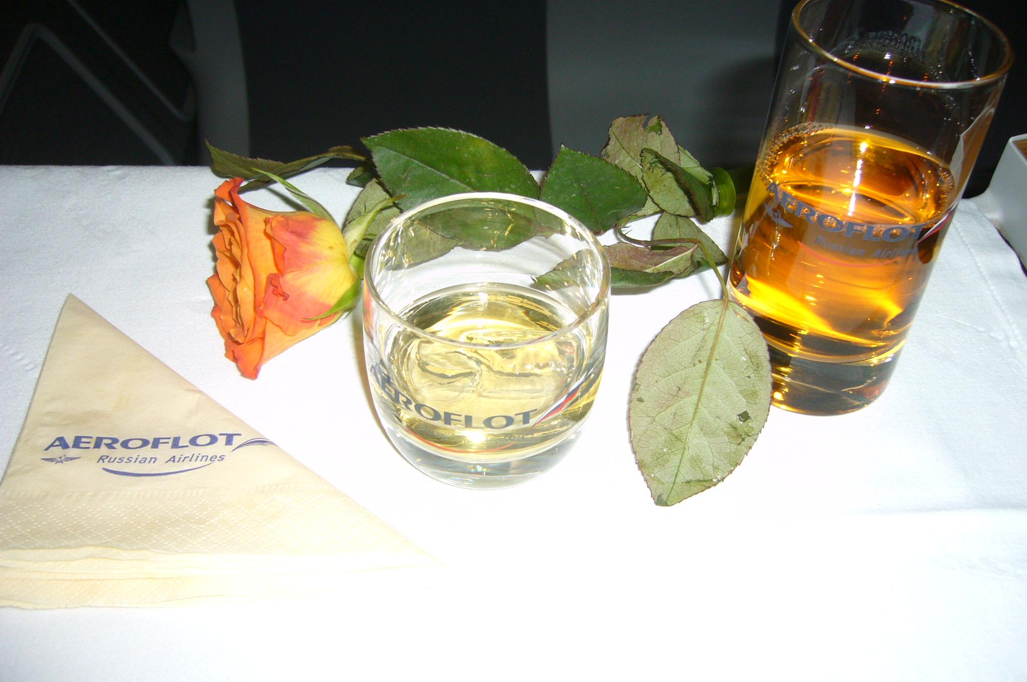 Aeroflot, drink, distant highway