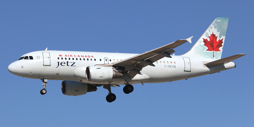Air Canada Jetz airline