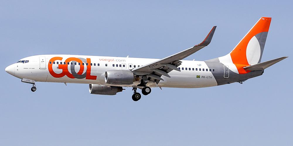 Самолет Боинг-737-800 авиакомпании GOL
