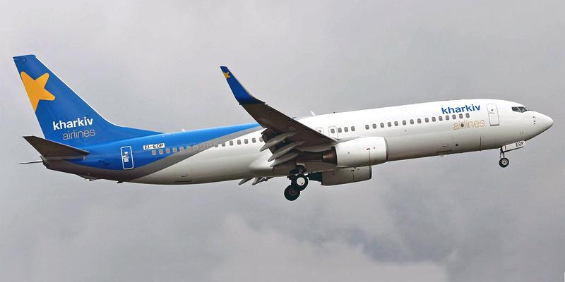 Самолет Боинг-737-800 Авиалиний Харькова