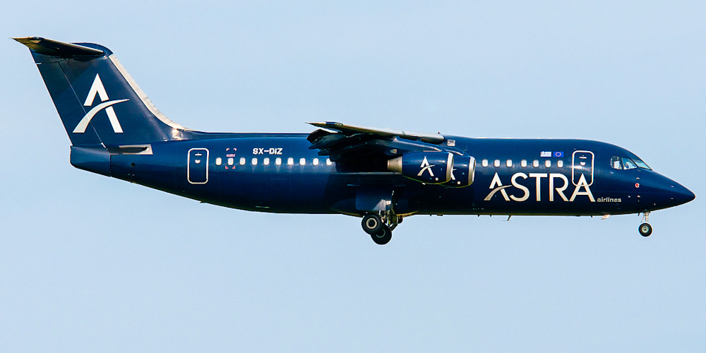 BAe-146-300 авиакомпании Astra Airlines