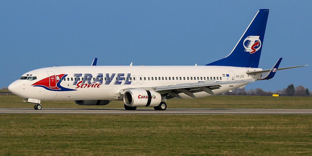 Боинг-737-800 авиакомпании Travel Service Hungary