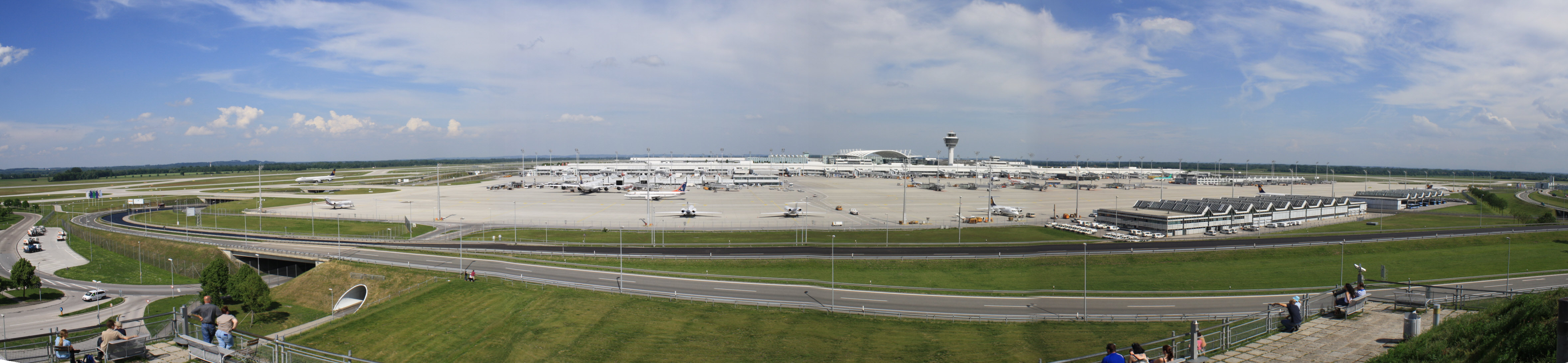 The Airport Franz-Josef-Strauss, Munich
