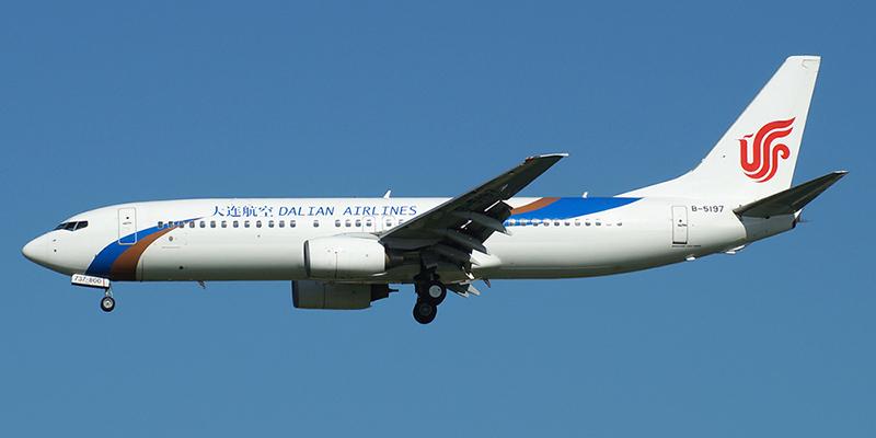 Боинг-737 авиакомпании Dalian Airlines