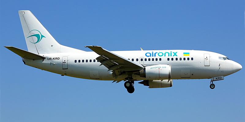 Самолет Боинг-737-500 авиакомпании Air Onix