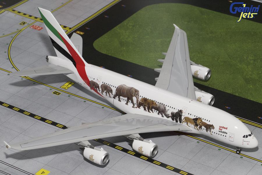 """Airbus A380-800 """"Wildlife"""""""