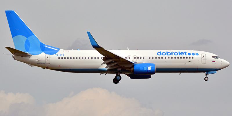 Боинг-737-800 авиакомпании Добролет